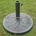 al aire libre paraguas base de resina