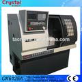micro pequeñas de metal torno torneado cnc de la máquina CK6125A precio