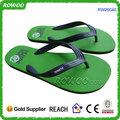 coloridos chinelos de tiras de pvc wiyh composto para solas de sapatos