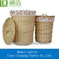 grande lavanderia cesta de vime móveis de vime
