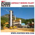 Serie LB de planta mezcladora de asfalto