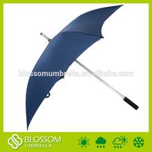 Eje de aluminio sombrilla, promoción de la plaza sombrilla, a prueba de viento sombrilla cuadrados
