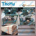 Rodada punho de madeira da máquina para fazer espanador e vassoura de pau/madeira mop máquina de furar