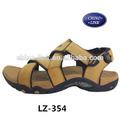 cuero de vaca superior de playa de los hombres casual sandalias sandalias de verano de venta al por mayor