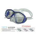M278 Scuba máscara de mergulho, máscara de mergulho para crianças silicone caça submarina