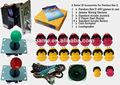 Une série accessoires de jeu d'arcade machine pièces et 400 en 1 arcade jamma pcb plateau de jeu multi