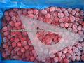 IQF cariño fresas congeladas 15-25mm