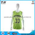 el diseño del oem equipo de baloncesto de desgaste