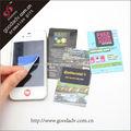 Vente en gros téléphone cellulaire en microfibres réutilisables collant produit nettoyage ecran