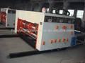 Mundo 2014 venda quente hy-a série semi- automática caixa de papelão ondulado máquina impressora flexográfica slotter