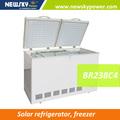 modelos de venda quente 238l dc freezer freezer solar