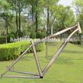 El más nuevo modelo mtb 650b de aleación de titanio marco 27.5 mtb marco