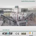 Icesta 60 tonnes. conteneurmoto usine de fabrication de glace en paillettes