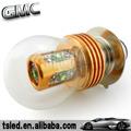 25w p15d diodo emissor de luz do carro, lâmpada conduzida do carro, lâmpada automotiva