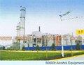 Alcohol industrial equipos de destilación 6000t( a su vez clave del proyecto)