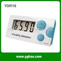 ygh116 cuenta atrás de la moda reloj digital temporizador