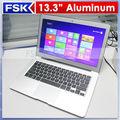 13,3 pulgadas intel i5 CPU Dual Core 1.70GHz, 3MB L3 Caché laptop i5 de metal