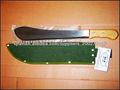 Cuchillo del bastón con mango machete de madera o plástico