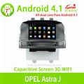 Autoradio gps para android puro 4.1 opel astra j con dvd/bluetooth/radio/tv/gps/3g/wifi/android! De buena calidad!