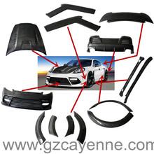 Auto kit de carrocería de panamera mansory/panamera kits del cuerpo/auto partes panamera mansory kit del cuerpo