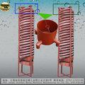 De oro 5ll-1200 concentrador de espiral