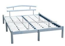 de estilo turco de lujo y super king size cama de metal marco