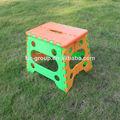 popular europeo de alta calidad silla plegable de plástico saliente silla plegable