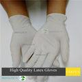 Guantes médicos desechables/guantes de examen/guantes de látex malasia
