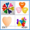 nuevo proveedor de productos de promoción corazón globos de helio