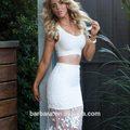 Venta al por mayor vestido de vendaje, el más nuevo vestido de blanco, nombre de marca de vestir!