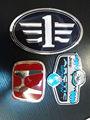 Insigne d'emblème de voiture avec 3 D Chrome Logo