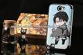 nueva llegada anime shingeki kyojin no ataque en titán teléfono para el iphone 4g 5g