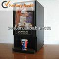 bebida caliente de máquinas expendedoras para la venta