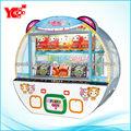 2013 2 * 17 LCD de la máquina más reciente de diversiones regalo premio vending juego