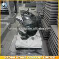 preço barato granito natural de pedra de peixe escultura de jardim