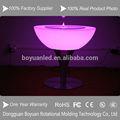 aspecto moderno bar discoteca led resplandor muebles de plástico de mesa