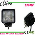 12v led de luz de trabajo combinación, caliente la venta de auto accesorios 15w luz de trabajo led 12v