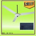 56 pulgadas de techo industrial del ventilador 12v dc ventilador de techo con ventilador de techo especificaciones