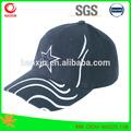 venta caliente del panel 6 bordado personalizado y el logotipo de parches de algodón unisex sombrero