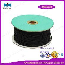 cordón de poliéster elástica redonda