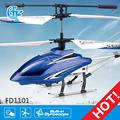 fd1101 9005 helicóptero de juguete que vuelan halcón negro helicóptero del rc
