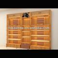 Colgando de la pared estantes/de madera estantes de la pared de diseño