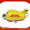 adminículo Avión pendrives usb flash USB 2GB de unidad con el logotipo del cliente
