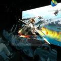Gran sistema de teatro divertida simulación 4D para el entretenimiento