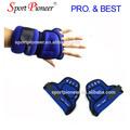 peso 1kg guantes sin dedos de neopreno s de levantamiento de pesas guantes de la mano de la guardia de peso