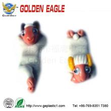 de plástico de juguete de cerdo