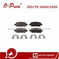 Pastillas De Freno Barato D4060-9N00B Compatible Semi-Metal Para Japón Vehículo Nissan Murano