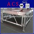 escenario portátil de plataforma plegable etapa fuerte de aluminio