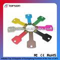 mini de colores de metal usb flash drive para la promoción clave para la venta