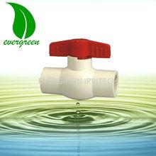 CPVC motorizados válvula de bola de latón